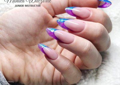 Przedłżanie paznokci